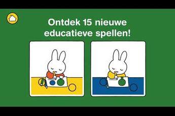 Speel mee met nijntje-game leert kinderen spelenderwijs cijfers en letters
