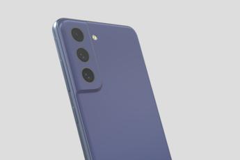 'Samsung Galaxy S21 FE: bekijk zelf het 3D-model in 5 kleuren'