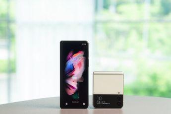 Samsung Galaxy Z Fold 3 en Z Flip 3: hands-on met de nieuwe foldables