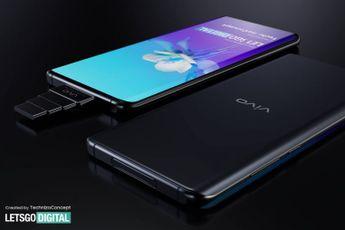 'Vivo werkt aan smartphone met meerdere pop-up camera's'