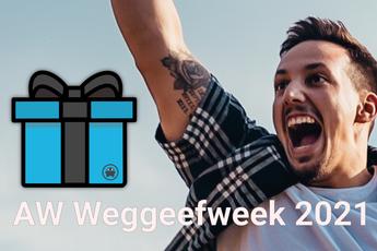 AW Weggeefweek 2021, elke dag een nieuwe winactie!