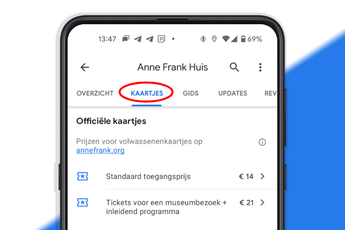 Google toont ticket prijzen nu rechtstreeks in zoekresultaten