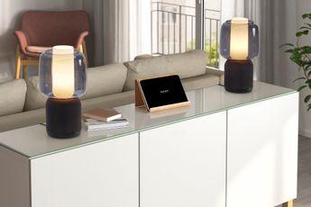 IKEA en Sonos stellen nieuwe SYMFONISK-tafellamp en speaker voor