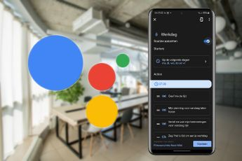 Deze slimme routine van de Google Assistent helpt je tijdens de werkdag