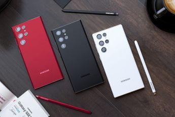 'Samsung Galaxy S22 Ultra krijgt 5.000 mAh accu en 45W oplader'