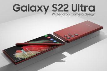 'Samsung Galaxy S22 Ultra: dit is de camera met waterdruppel-design'