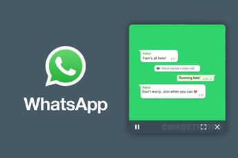 WhatsApp heeft nieuwe picture-in-picture-functie voor video's, zo werkt het