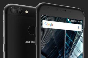 ARCHOS lanceert 2 budgettoestellen met dubbele camera en vingerafdruksensor