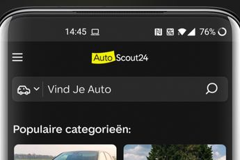 AutoScout24 laat je nu auto's zoeken in een donkere modus