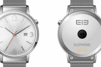 ELE Watch: metalen Android Wear-smartwatch met rond scherm
