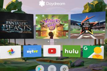 Update Daydream-app laat beeld naar TV en Chromecast casten