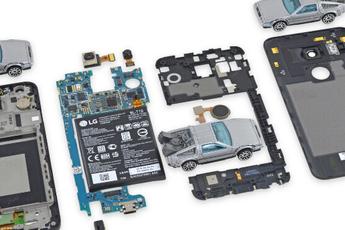 Teardown Nexus 5X: redelijk makkelijk te repareren