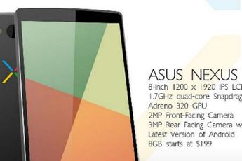 Google Nexus 8 gelekt in servicehandleiding?