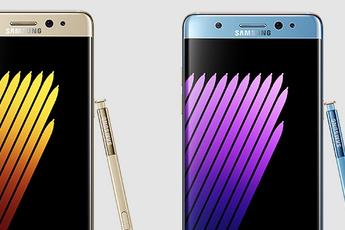 'Samsung Galaxy Note 7 'Refurbished' te herkennen aan grote 'R' op de achterkant'