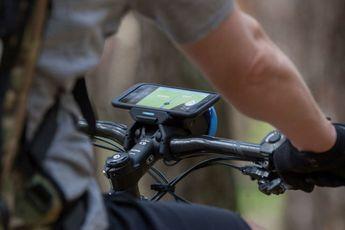Met deze gadget kun je toch online blijven op je fiets