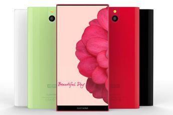 Elephone toont prototype van randloos Androidtoestel