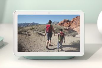 Je Google Foto's herinneringen zijn straks ook op de Google Nest Hub te zien