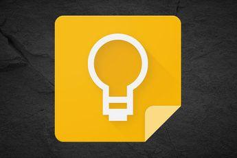Zo activeer je de donkere modus in de webversie van Google Keep