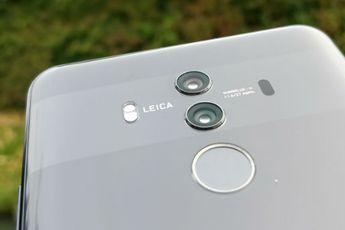 Gerucht: opvolger Huawei Mate 10 krijgt vingerafdrukscanner van Qualcomm onder scherm