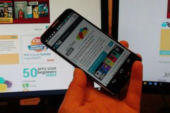 Android 5.0 op LG G2 te zien in video