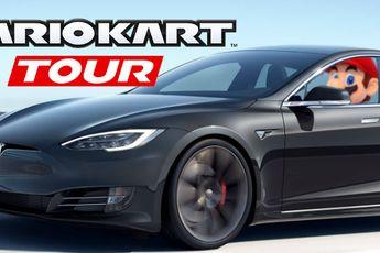 Mario Kart Tour review: racen met een Tesla op autopilot