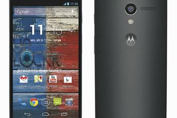 Camera-interface Moto X toont nieuwe functies; nieuw soort camerasensor