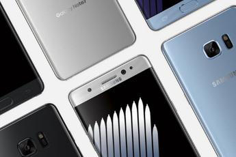 Gelekte foto's van refurbished Galaxy Note 7 laten kleinere accucapaciteit zien