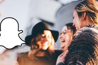 Snapchat kan nu live locatie delen met geselecteerde vrienden
