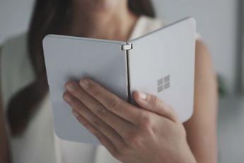 Microsoft Surface Duo kost 1399 dollar: dit zijn alle specificaties [update]