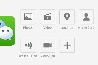 WeChat krijgt nieuw uiterlijk , strakke interface met kolommen