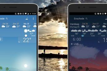 App van de week: bekijk de weersvoorspelling via real-time animaties met YoWindow