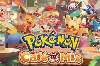 Pokémon Smile en Café Mix beschikbaar: tanden poetsen en café uitbaten