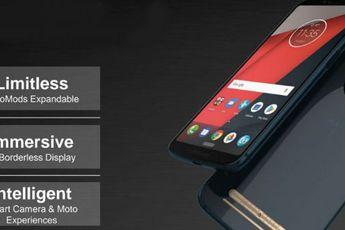 'Dit zijn de officiële renders van de Moto Z3 Play'