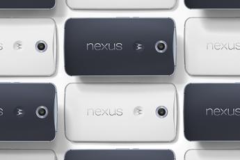 Nexus 6 krijgt weer Android 7.1.1 Nougat