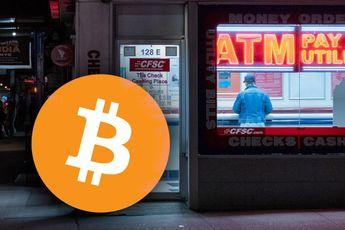 Een bitcoin geldautomaat op elke straathoek, in Florida gebeurt het
