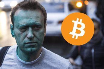 Russische oppositieleider Navalny ontvangt $120.000 aan Bitcoin donaties