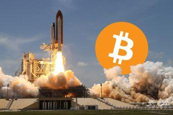 De bitcoin koers warmt op en lijkt zich op te maken voor nieuwe explosie