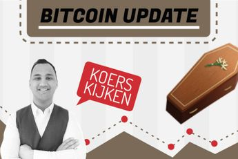 'Bitcoin daalt met $10.000, bears laten koers crashen naar $30.000'