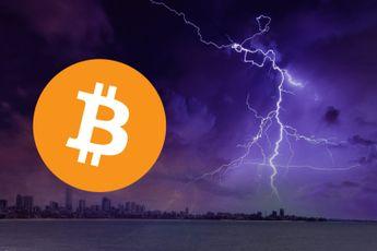 Aantal Bitcoin op Lightning Network stijgt exponentieel: 2.900 BTC