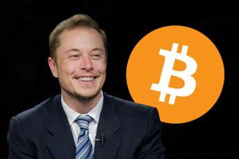 Tesla topman Elon Musk: 'Overheid, laat bitcoin met rust'