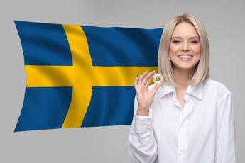 Centrale bank Zweden waarschuwt ook voor 'risicovolle' crypto's