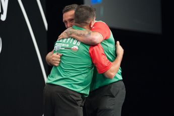 Prize money breakdown for 2021 World Cup of Darts with £350.000 on offer