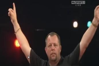 THROWBACK VIDEO: King throws nine-dart finish at 2010 UK Open