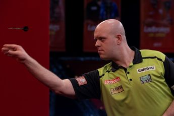 """Van Gerwen frustrated after UK Open semi-final exit: """"Lately I often have players playing the match of their lives against me"""""""