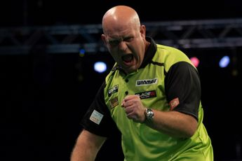 Van Gerwen closes on Wright in battle for World Number Two spot in PDC Order of Merit