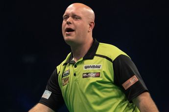 Van Gerwen produces fourth highest losing average in PDC history