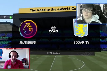 VIDEO: Edgar takes on professional FIFA player in Ultimate Team with a twist