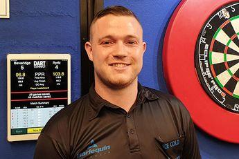 Beveridge leads Online Darts League Group A in deadlocked opening day