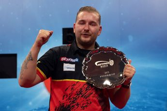 """Van den Bergh upbeat despite World Matchplay final defeat: """"I can say that I gave everything and never gave up"""""""