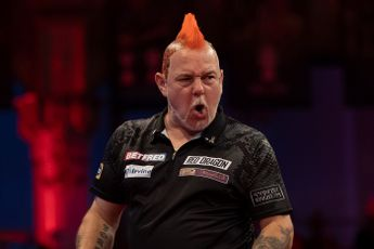 Schedule for Wednesday evening at 2021 World Matchplay featuring Wright, Van Gerwen and Anderson